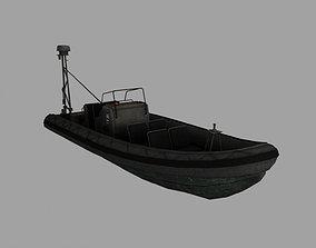 3D model cutter Patrol boat