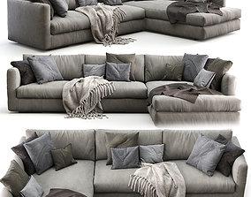 Flexform Sofa MAGNUM 3D