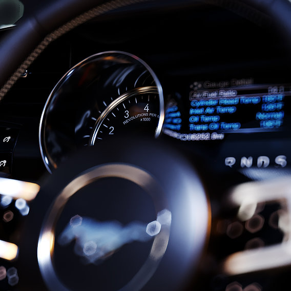 Ford Mustang GT With HQ Interior