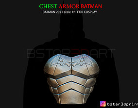 3D printable model Batman Chest Armor - Batman 2021 - 1