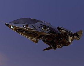 FX-27 Raptor Starship 3D model