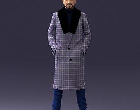 Man in coat 1119 Print Ready