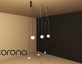 Minimal Light contemporary 3D model