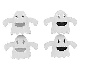 3D model Cartoon Fabric Ghost