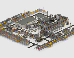 3D asset Factory Kitbash 03