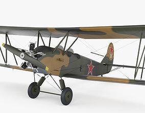 Polikarpov Po-2 3D