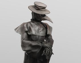 3D The plague doctor