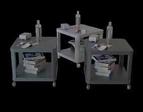 3D ikea IKEA tingby side table