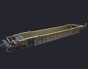 3D model FlatCar LowPoly