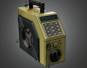 3D asset Safe Cracker Device BHE - PBR Game Ready
