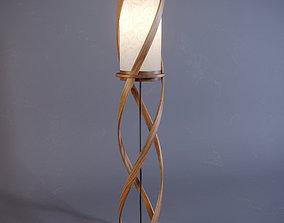 Tango floor lamp 3D model