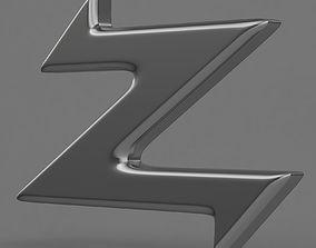 3D model Zagato logo 1