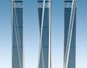 3D asset Skyscraper 02