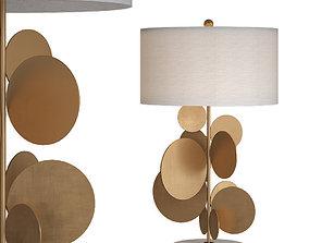 3D Table lamp Lampe Pastille No 373