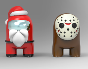 Who are Impostor Santa and Jason STL for 3D print model