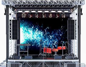 Mini Concert Stage 3 3D model