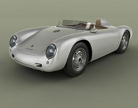 3D Porsche 550 A Spyder