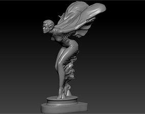 goddess decoration on the 3D printable model