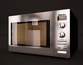 Miele Microwave M8201-1s 3D