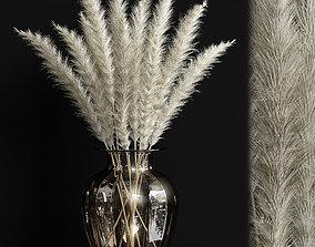 3D model Dried flowers 02