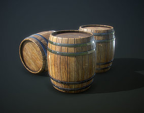 udk 3D asset realtime Barrel