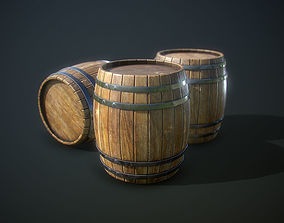 udk 3D asset realtime Barrel