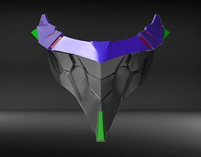 covid19 UNIT 01 Custom Mask Fan Art 3D print model