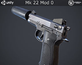 Mk 22 Mod 0 3D model game-ready