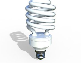 Energy saving lamp 3D