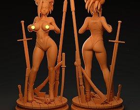 3D print model Momo Yaoyorozu My Hero Academia