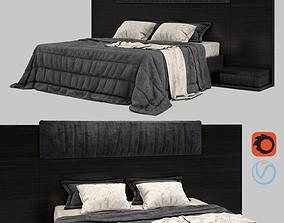bed set 01 3D model