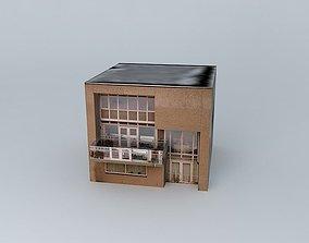 House Nienoord Avenue 38 Spijkenisse 3D model