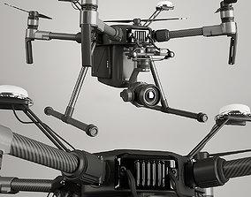 Quadcopter DJI MATRICE 3D
