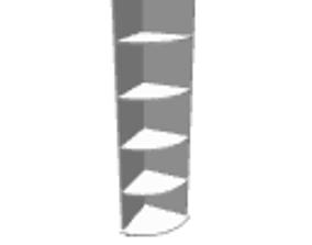 3D model Angle shelf 2