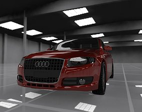 3D asset Audi A4 2008