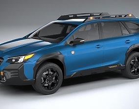 3D model Subaru Outback Wilderness 2022