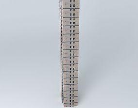 3D North Bund Garden Tower