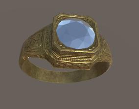 AntiqueRing 3D asset