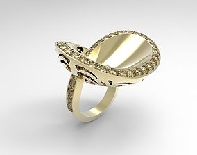 Infinity cocktail ring 3D print model