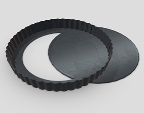 3D asset Baking Tin 2 Open