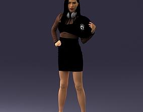 DJ girl 0328 3D