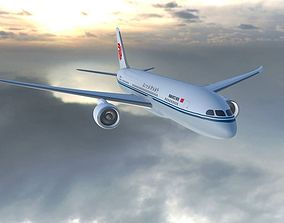 Boeing 787 Dreamliner Air China 3D model