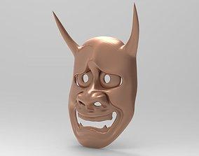 Mask - hannya 3D print model