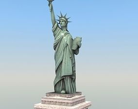 3D model Statue of Liberty USA