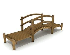 3D asset Kids Game Equipments 14 - Wood Bridge