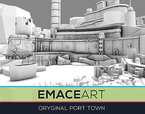 3D asset realtime Mega World Port