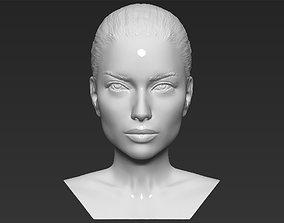Adriana Lima bust 3D printing ready stl obj