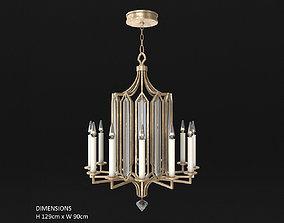 Fine Art Lamps Westminster 885140 3D model