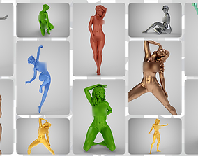 3D model Art Pose Collection