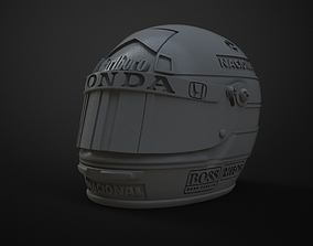 Senna helmet 3d printable